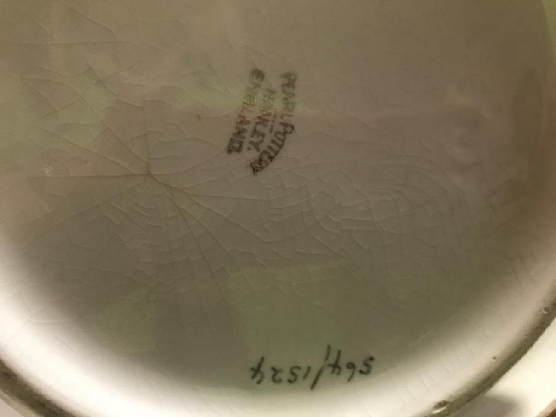 English Pottery Pitcher and Washbowl - 2