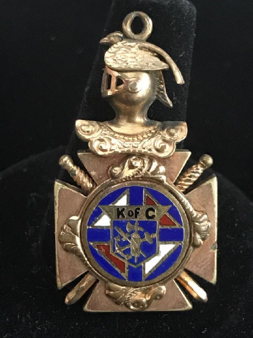 Knights of Columbus Pendant - 2