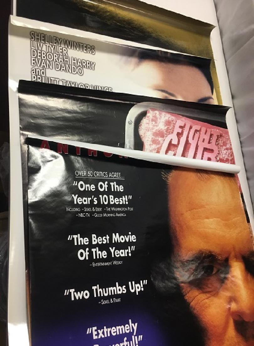 Four 1990's One Sheet Movie Posters