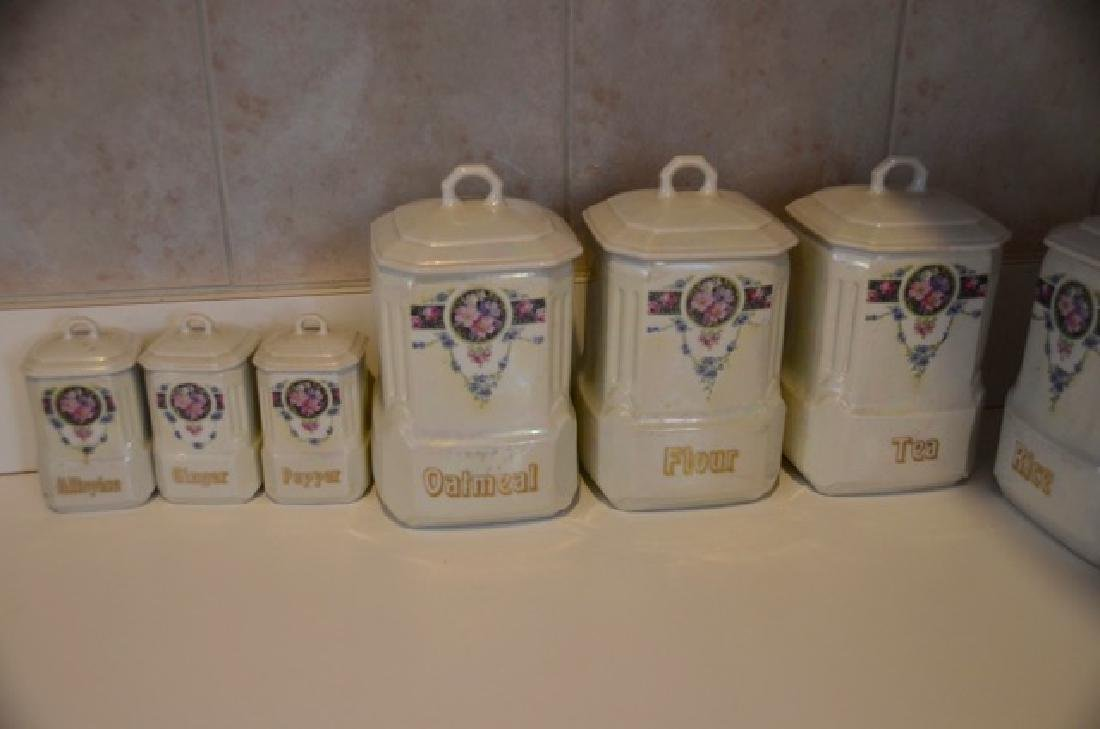 German Mepoco Ware Canister Set (12) - 3