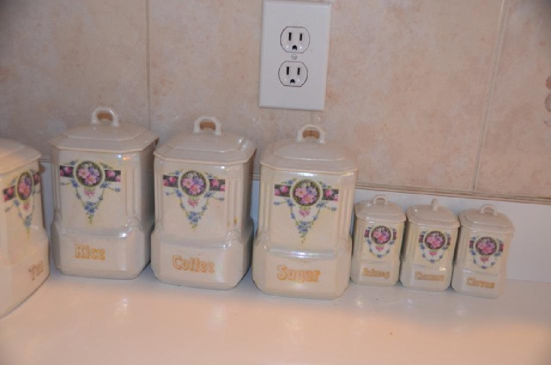 German Mepoco Ware Canister Set (12) - 4