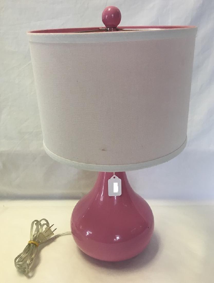 Pink Lamp Bedroom Lamp