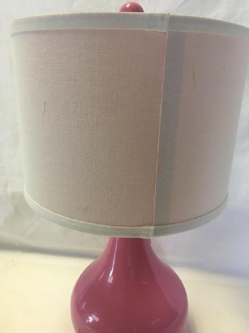 Pink Lamp Bedroom Lamp - 4