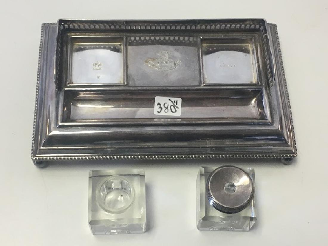Dealer's Lot of Silver Plate and a Chase Mustard Pot - 8