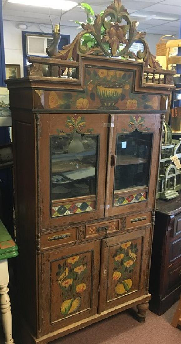 Painted Bavarian Cabinet