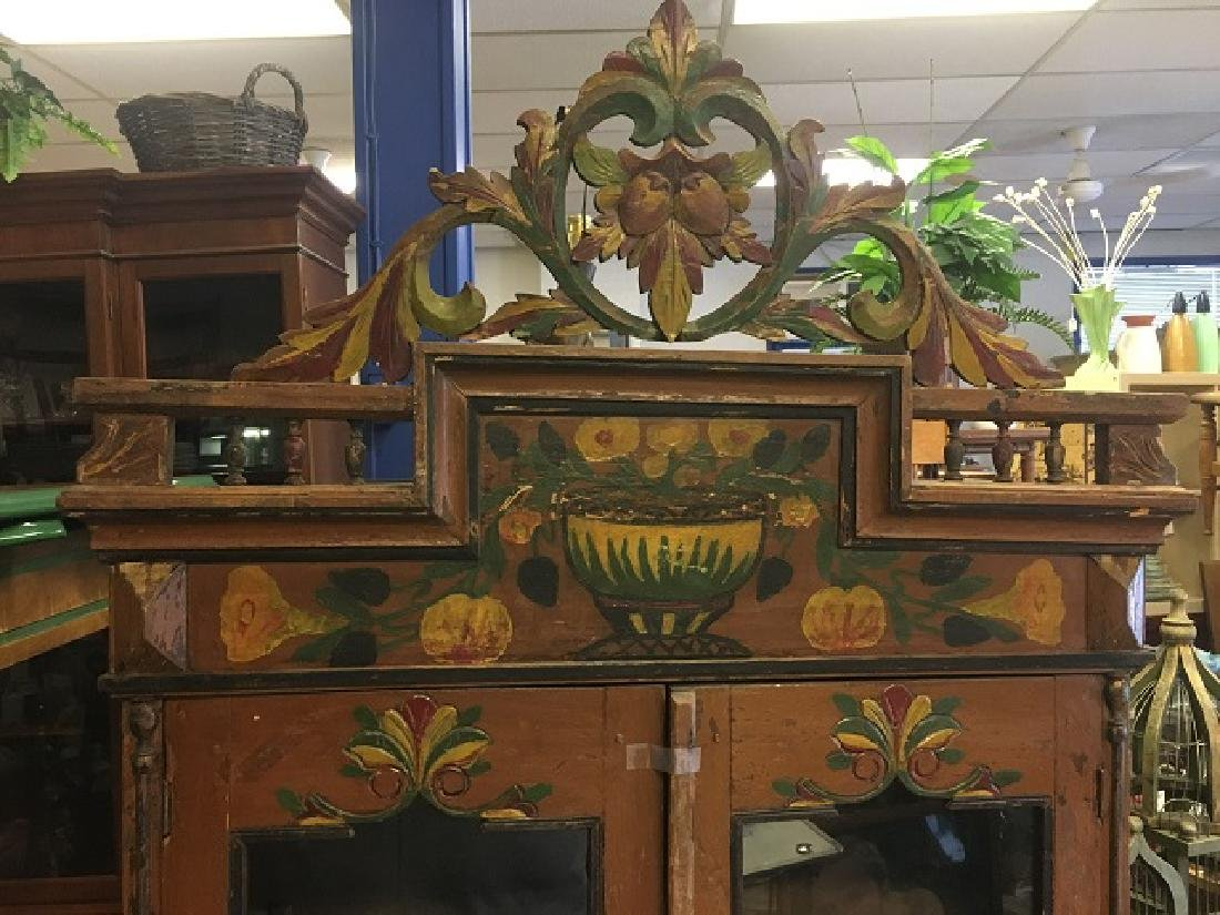 Painted Bavarian Cabinet - 2