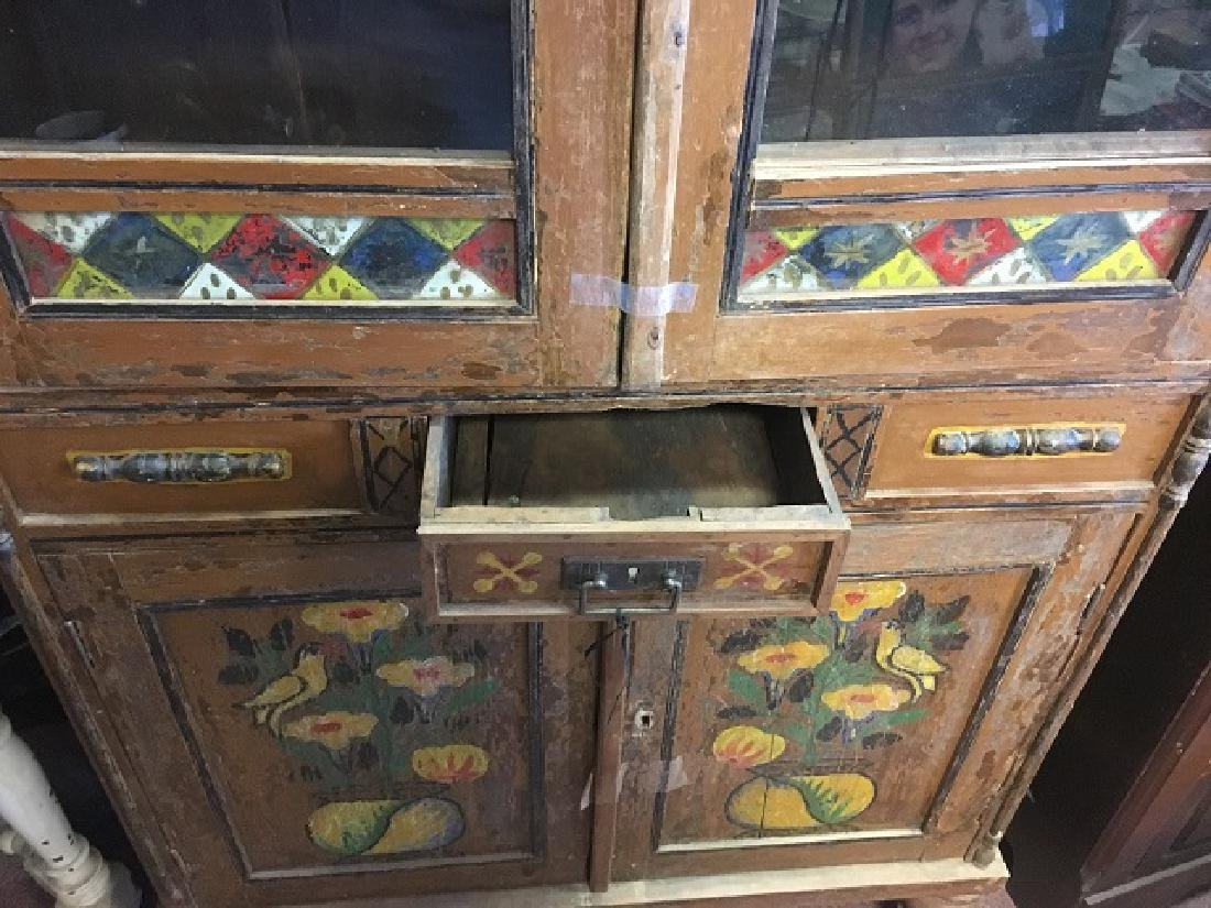 Painted Bavarian Cabinet - 4