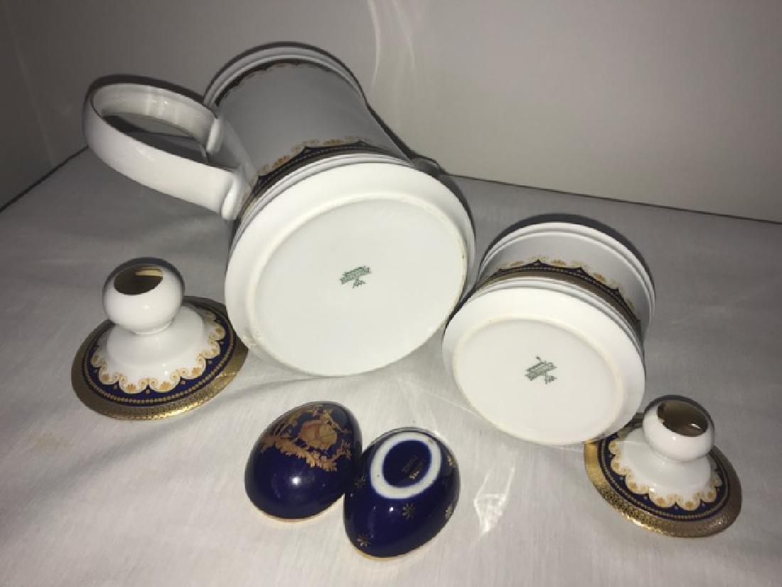 Mitterteich Teapot and Sugar Bowl - 2