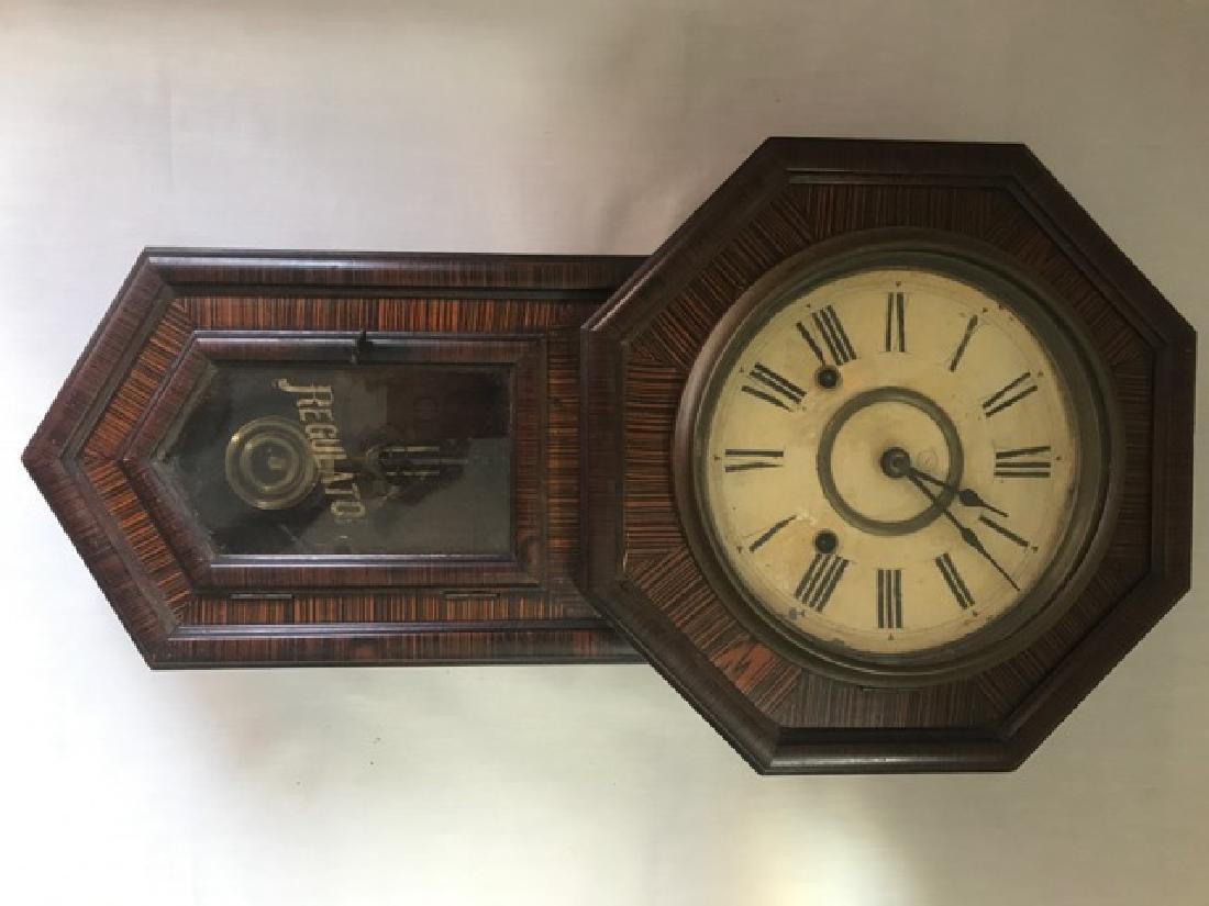 Vintage 8 Day Regulator Clock