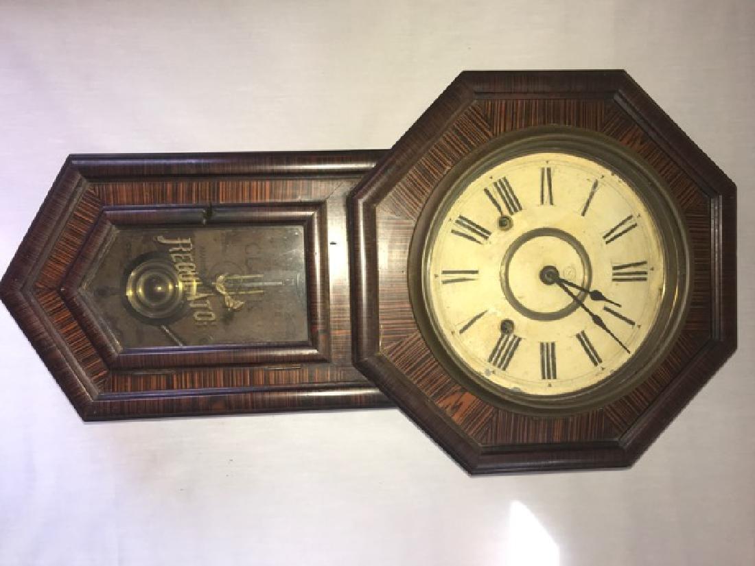 Vintage 8 Day Regulator Clock - 2