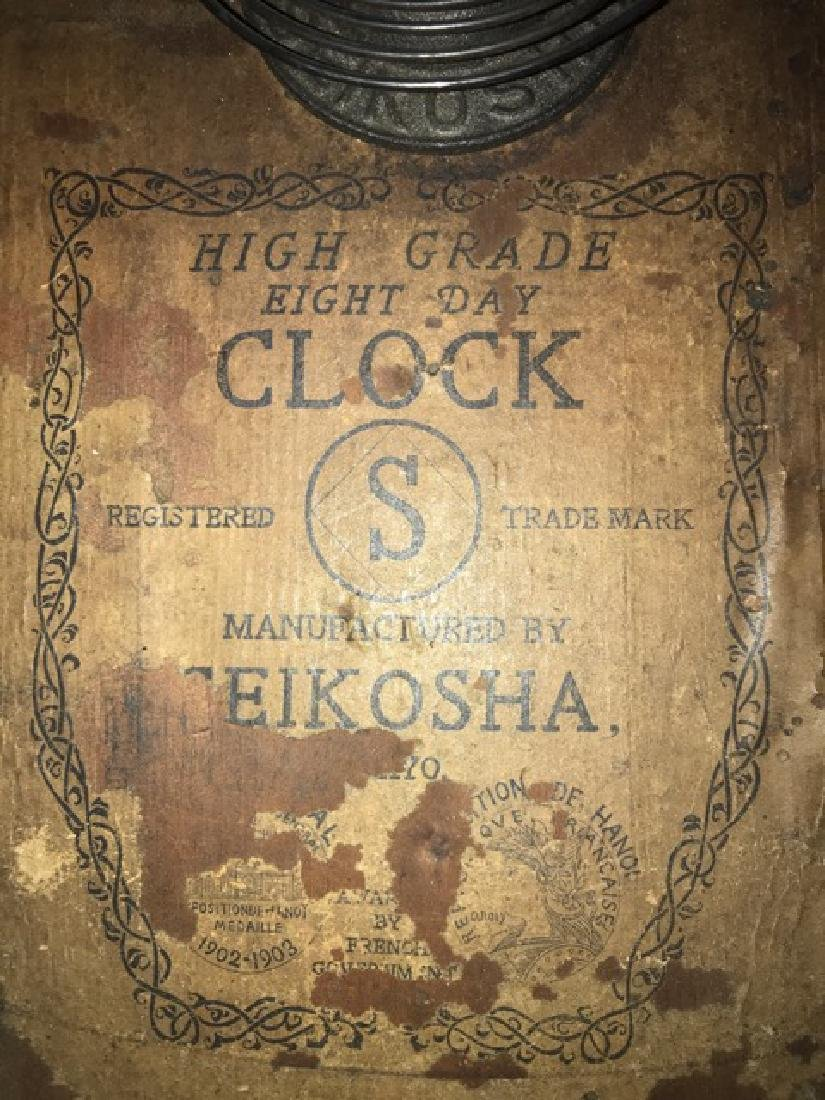 Vintage 8 Day Regulator Clock - 3