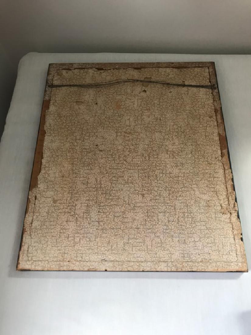 Framed Early 19th C. Sampler - 5