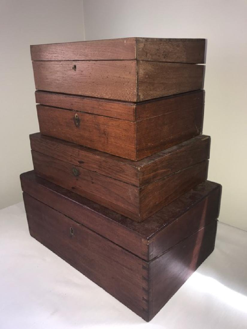 Wooden Letter Writing Boxes - 2