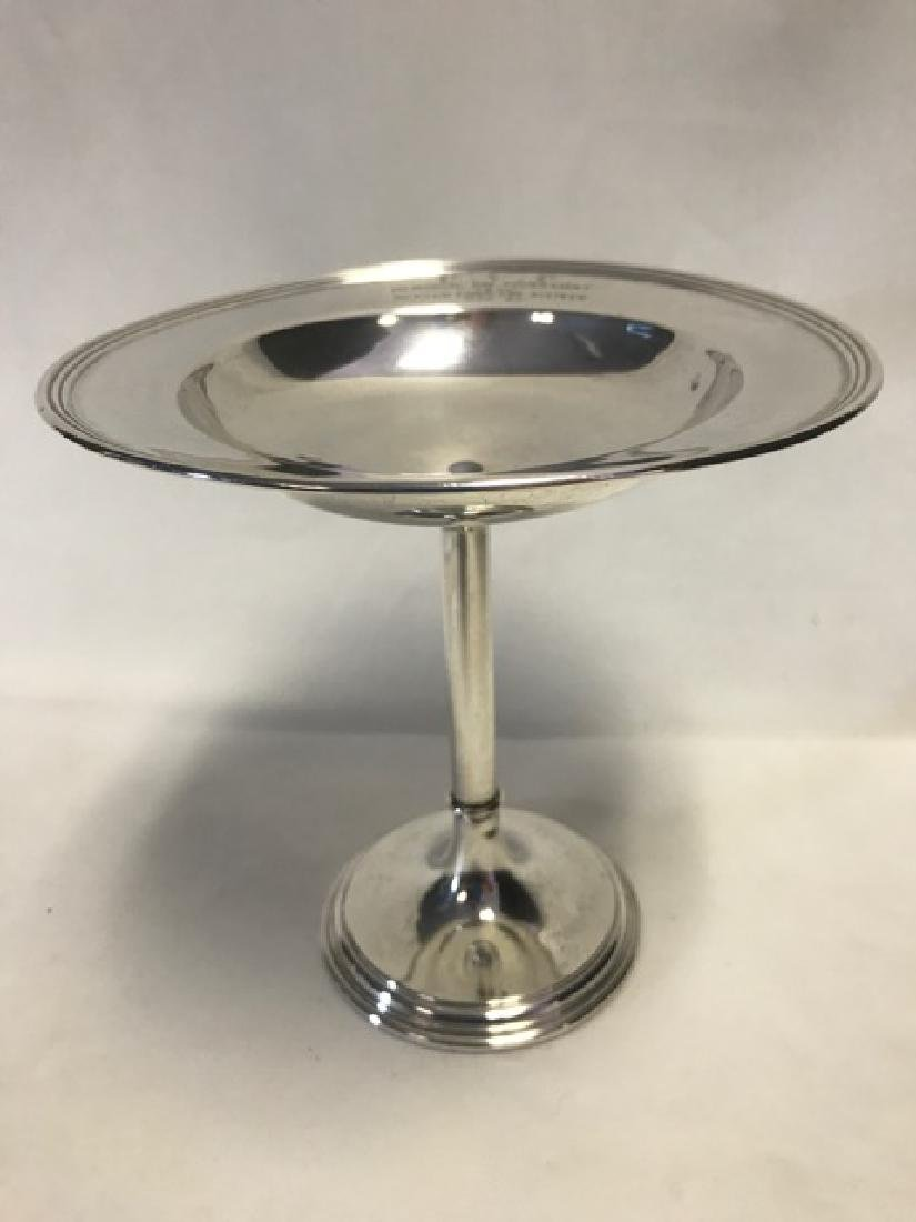 Sterling Silver Pedestal Candy Dish