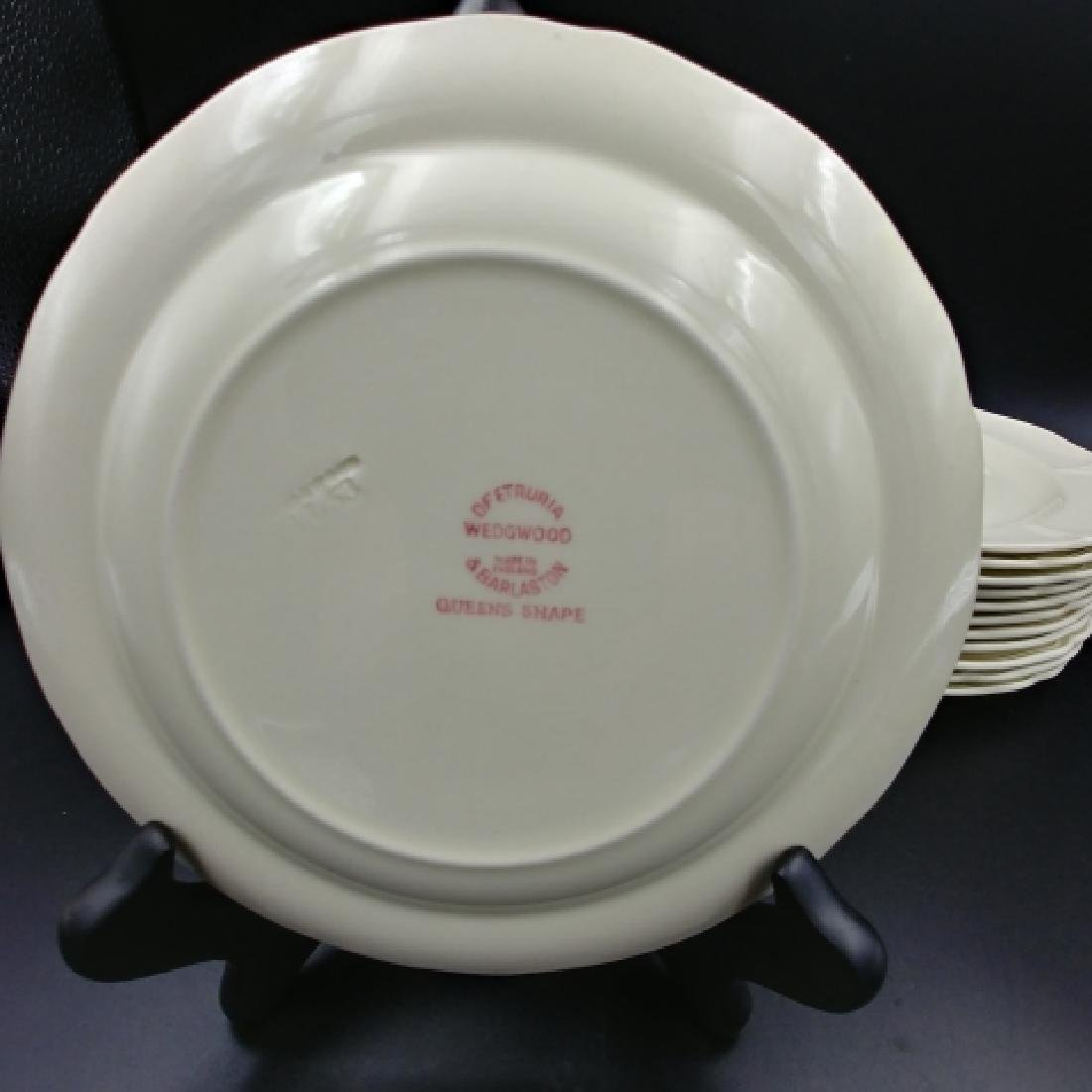Wedgwood Queens Shape Plates (24) - 5