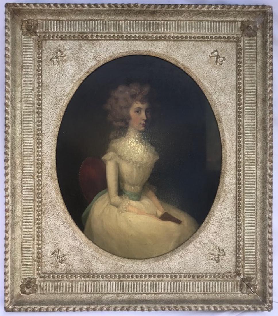 Important Pair of 18th C.  Arthur Devis Oval Portraits - 2