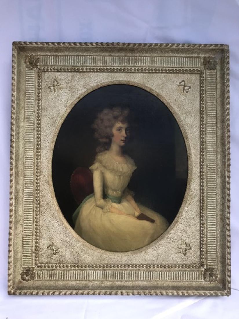 Important Pair of 18th C.  Arthur Devis Oval Portraits - 3