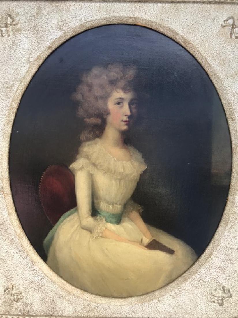 Important Pair of 18th C.  Arthur Devis Oval Portraits - 4