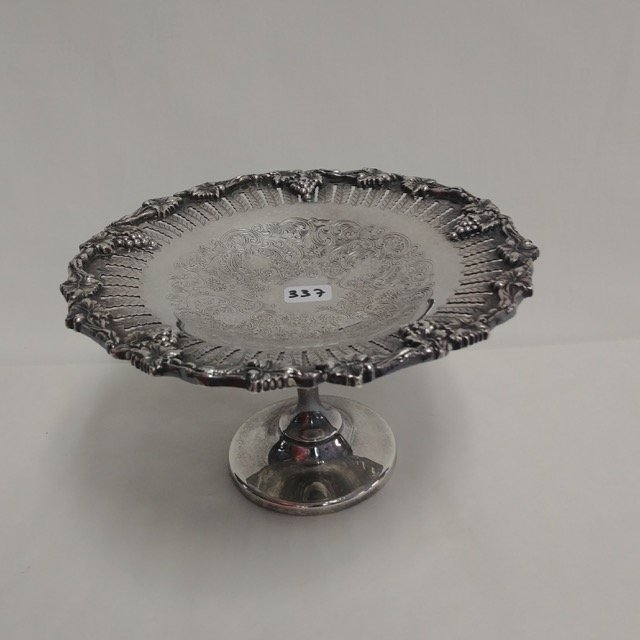 Plated Silver Compote