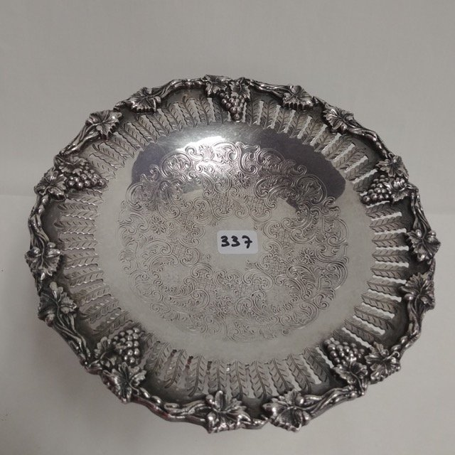 Plated Silver Compote - 2