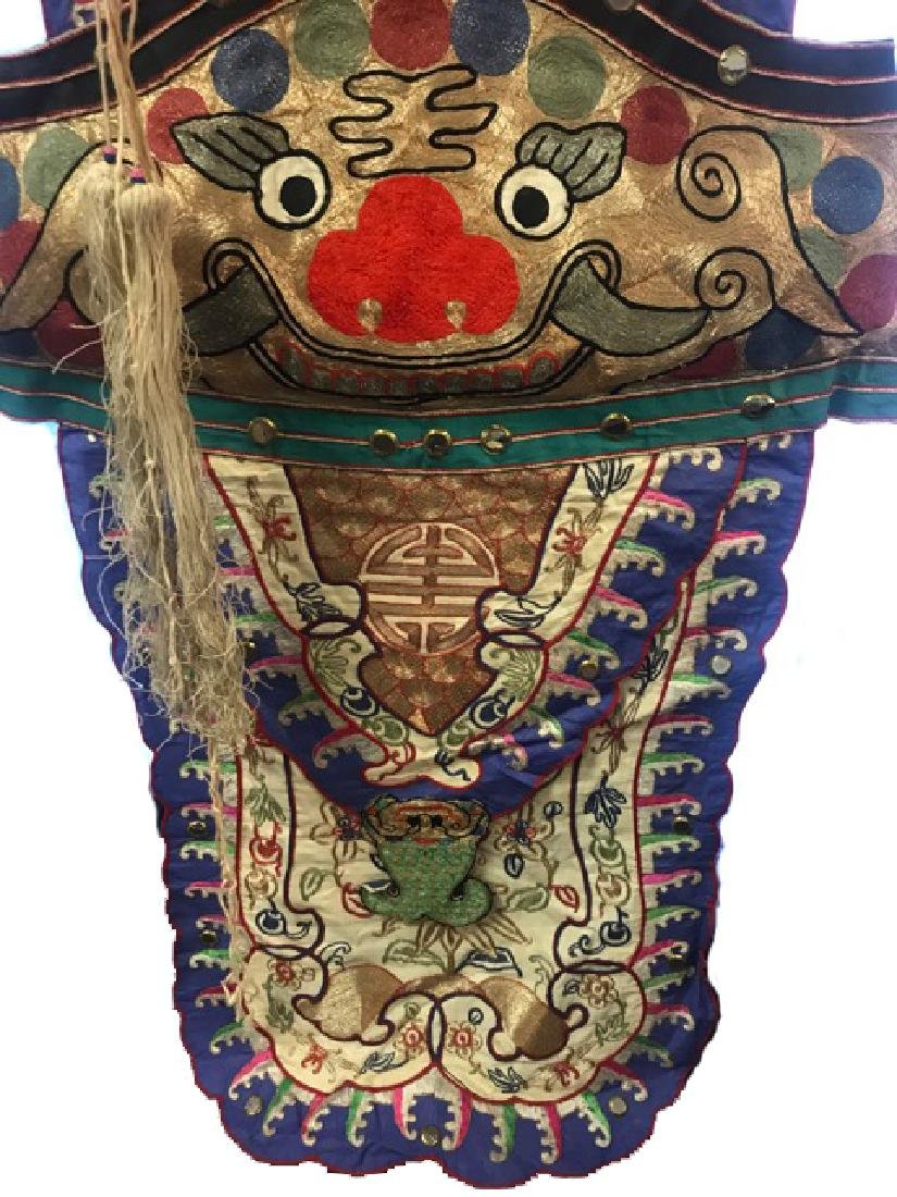Late 19th C. Traditional  Chinese Opera Costume - 5