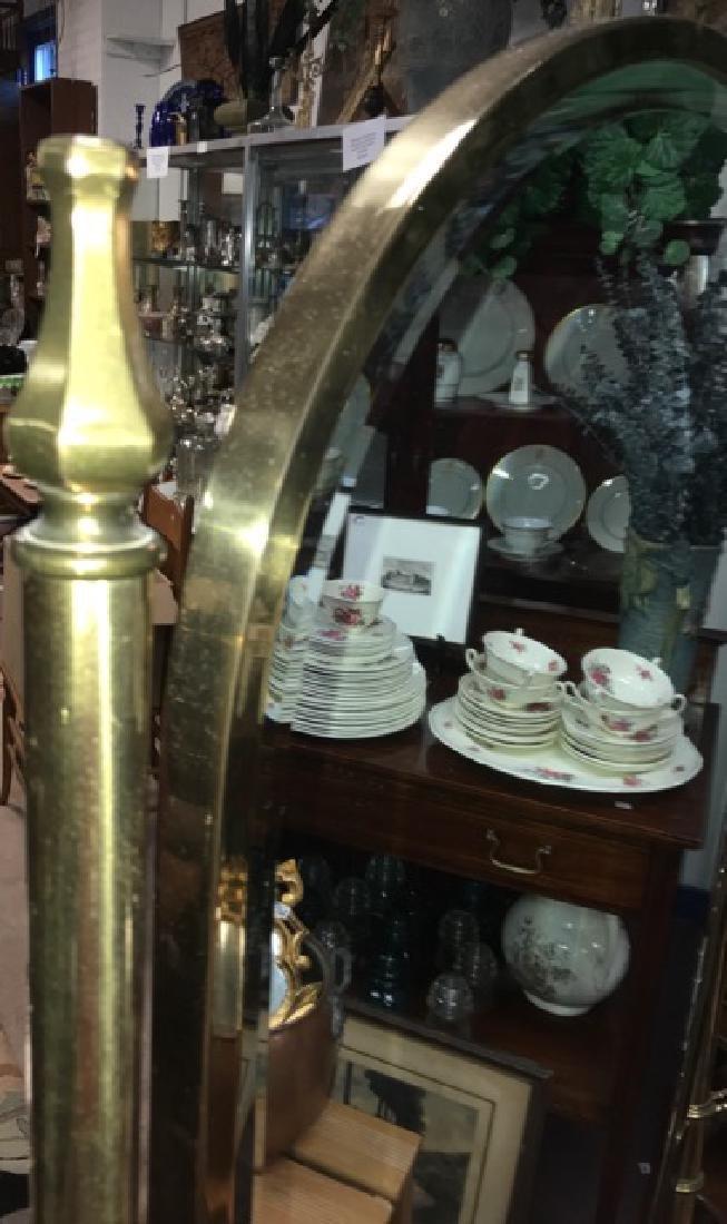 Brass Cheval Mirror - 3