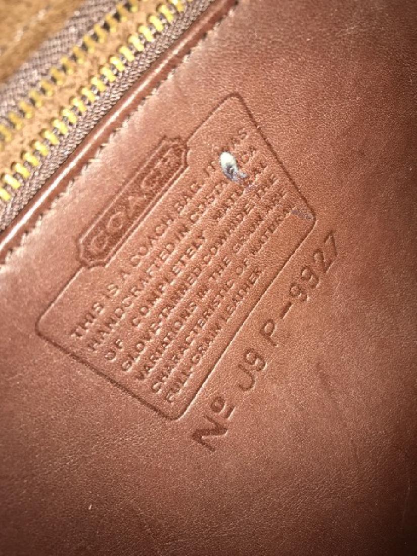 Leather Coach Handbag - 2