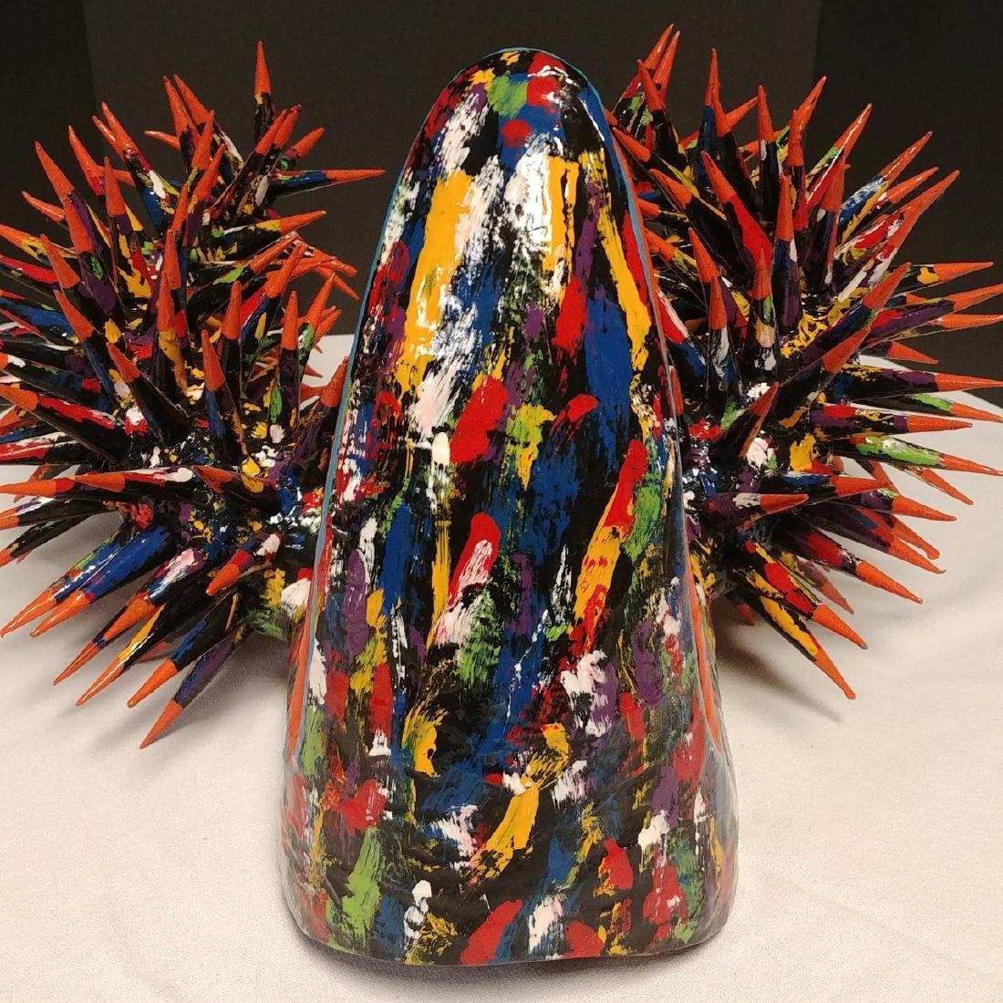 Paper Mache Carnival La Joya Mask - 3