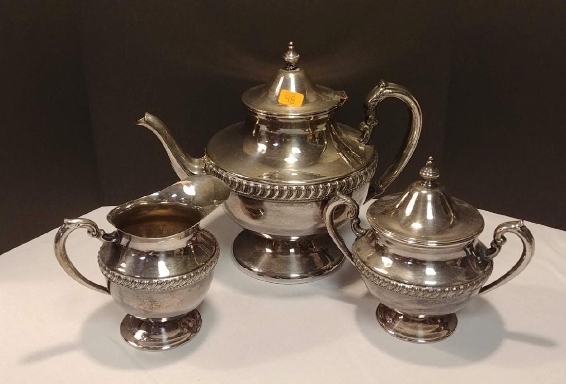 Plated Silver Tea Set