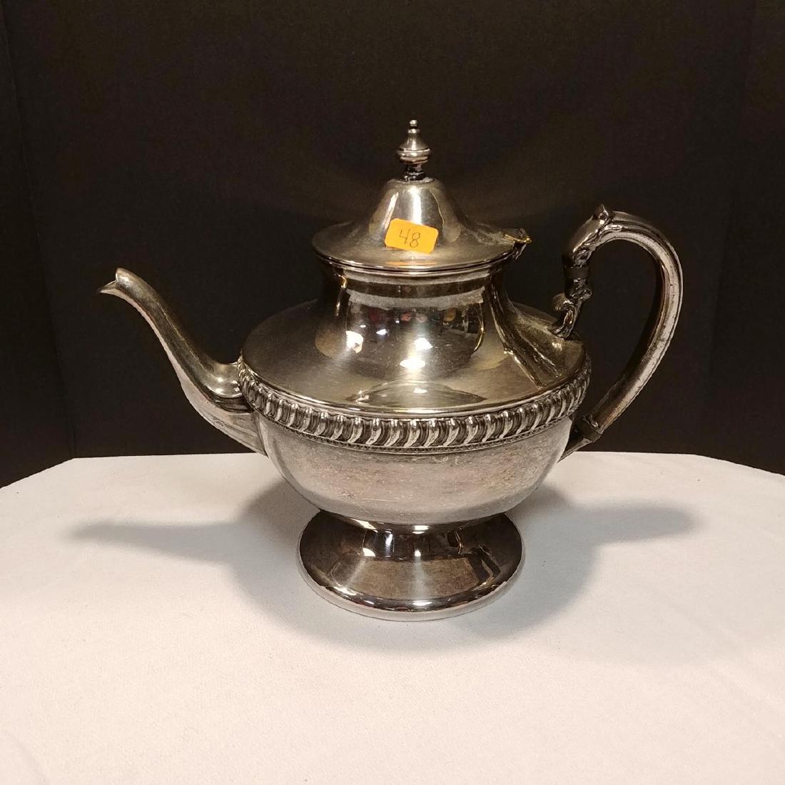 Plated Silver Tea Set - 2