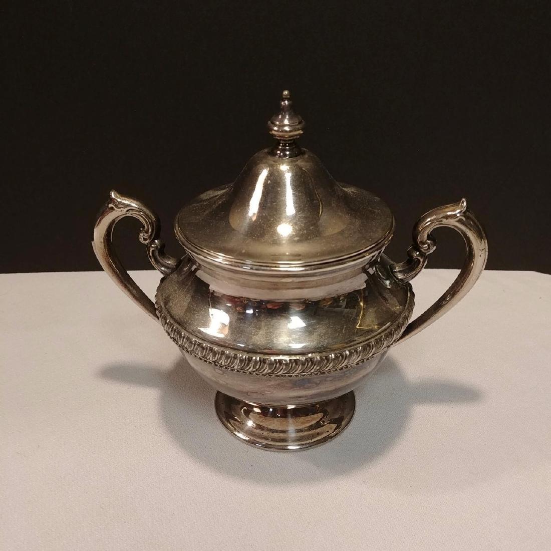 Plated Silver Tea Set - 4