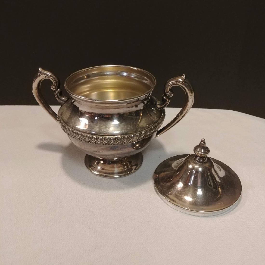 Plated Silver Tea Set - 5