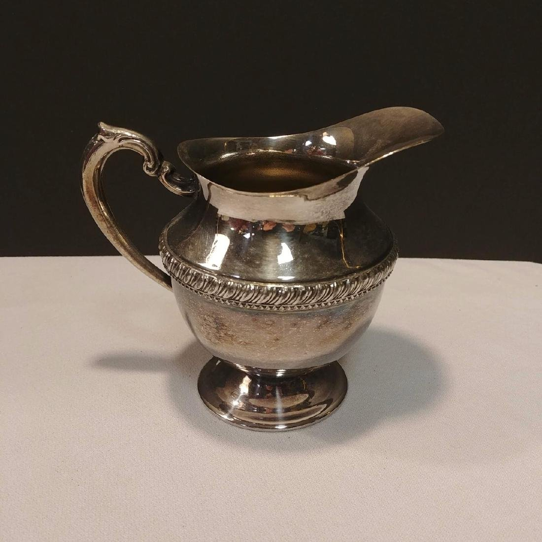 Plated Silver Tea Set - 6