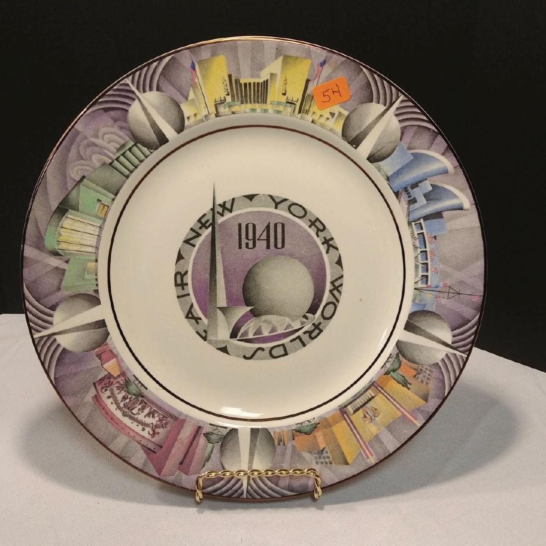 New York World's Fair, 1940 Plate