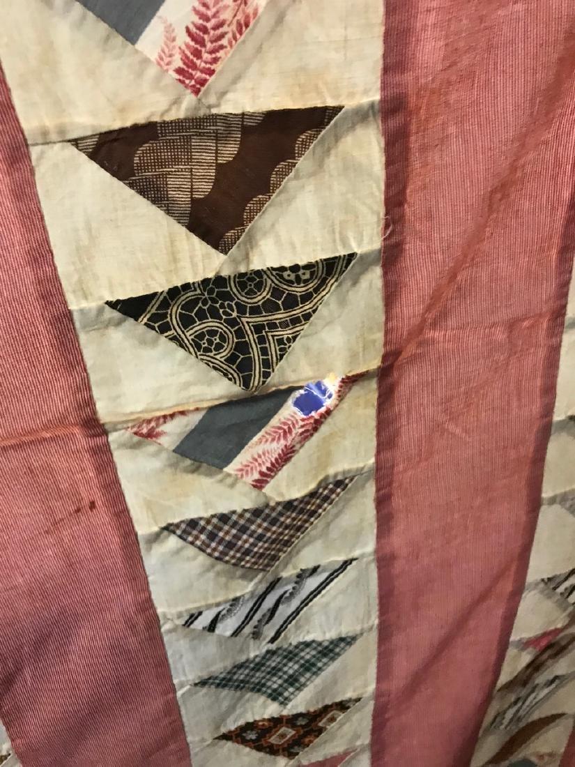 Antique Quilt Topper - 4