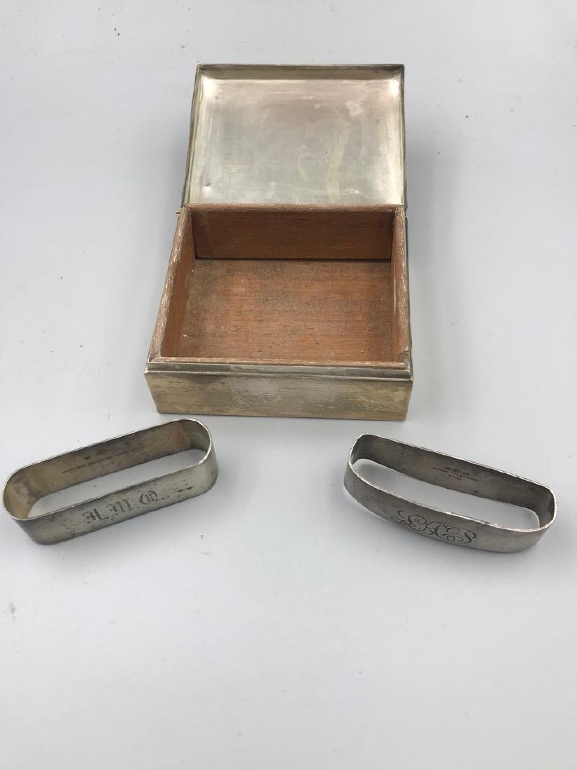 Poole Sterling Box, Two Napkin Holders - 2