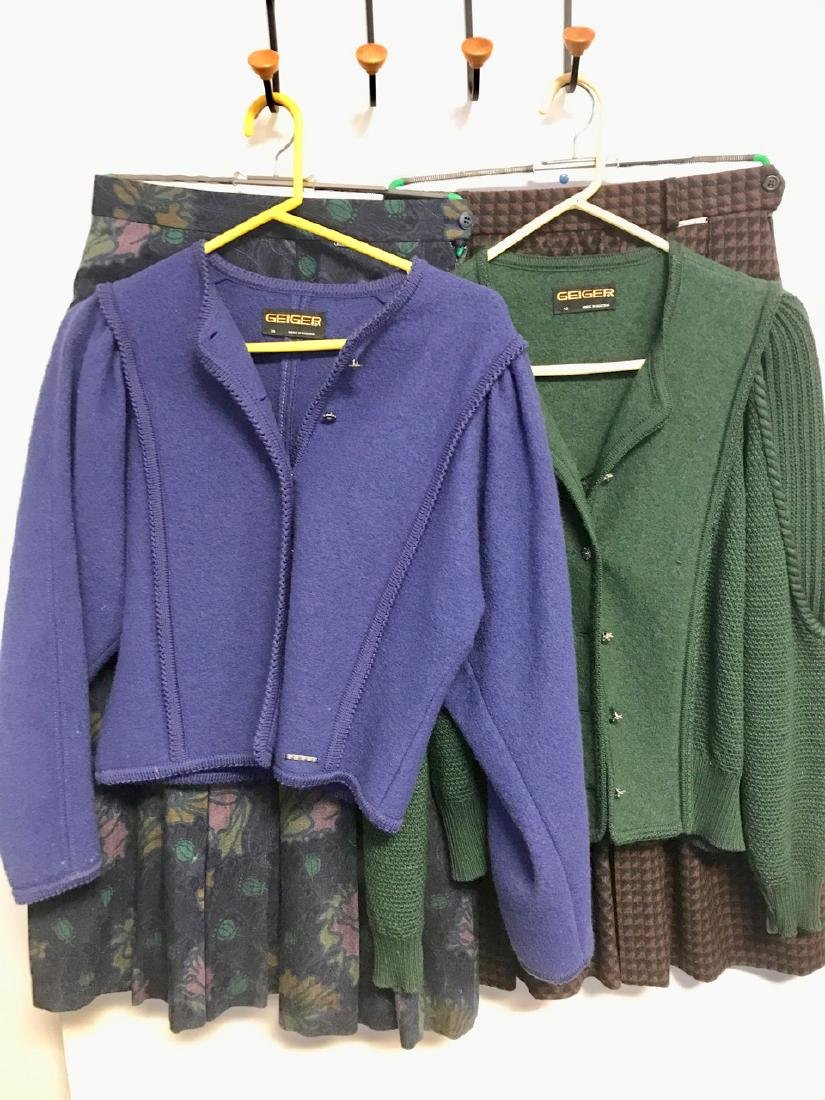 Geiger Wool Jackets and Skirts