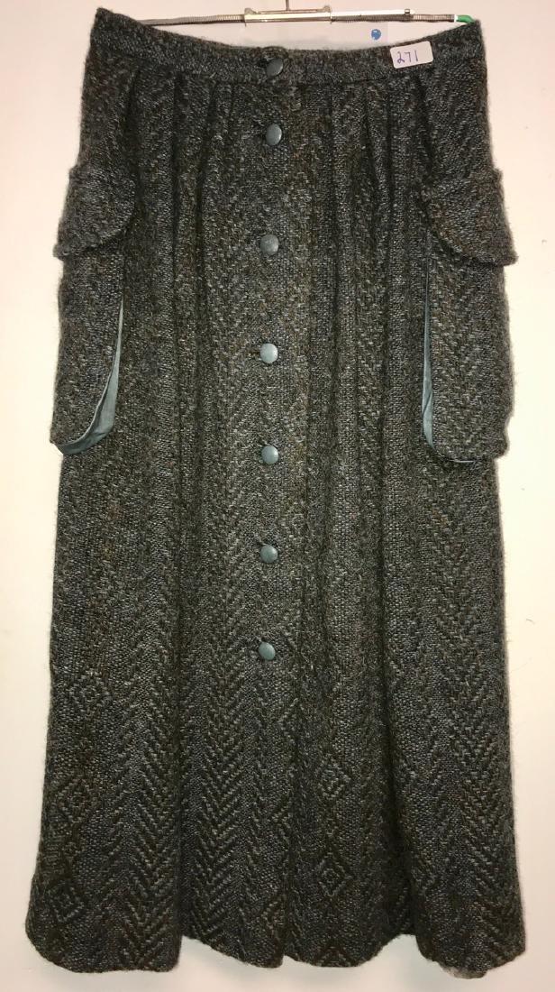 Irish Wool Skirt by Cleo