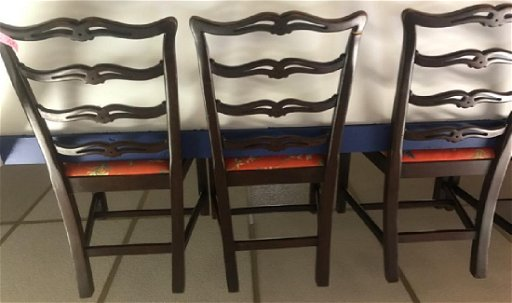 Super Mahogany Ribbon Back Dining Chairs 5 Feb 27 2019 Short Links Chair Design For Home Short Linksinfo