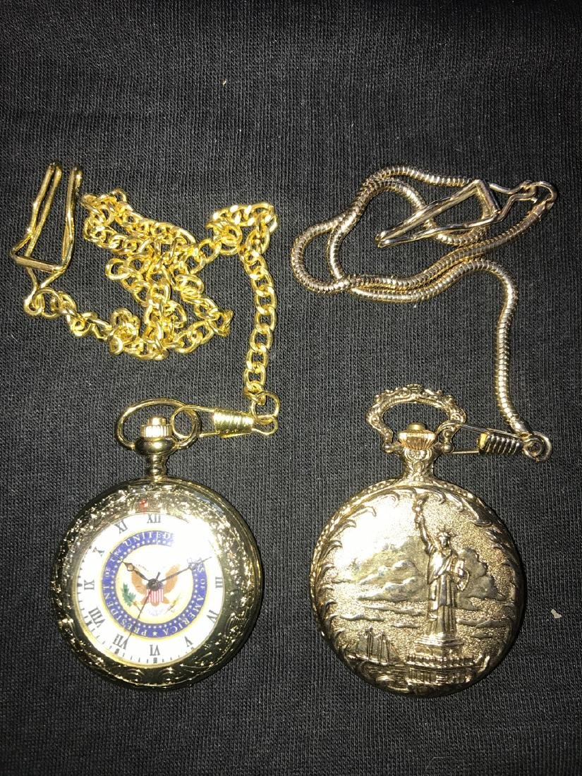 Pocket Watches - Statue of Liberty and Presidential