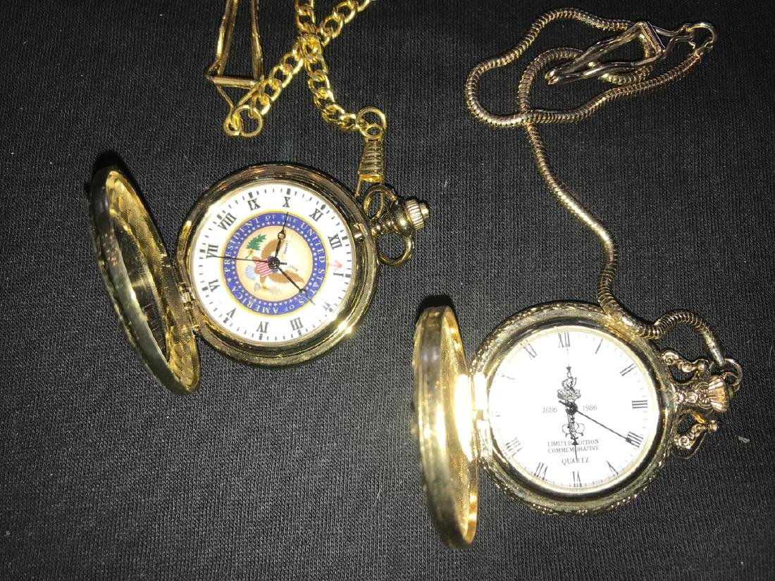 Pocket Watches - Statue of Liberty and Presidential - 2