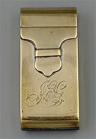 Brass Mailbag Match Safe