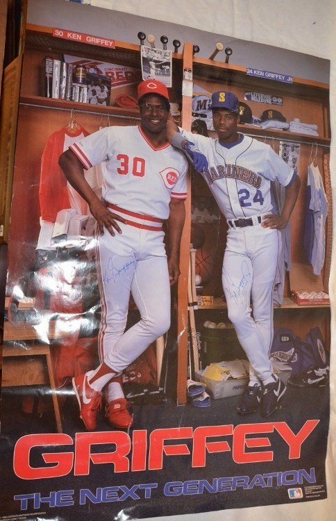 Griffey The Next Generation Signed Poster
