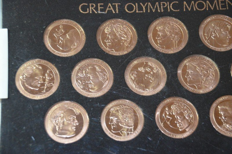 Set of Great Olympic Moments Coins - 3