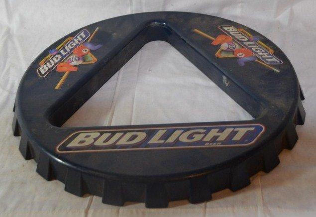 Bud Light Pool Ball Rack