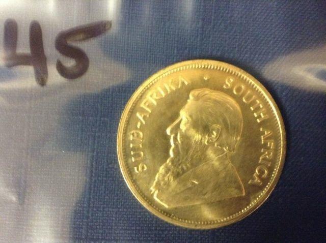 1977 South African Gold Krugerrand, 1 oz.