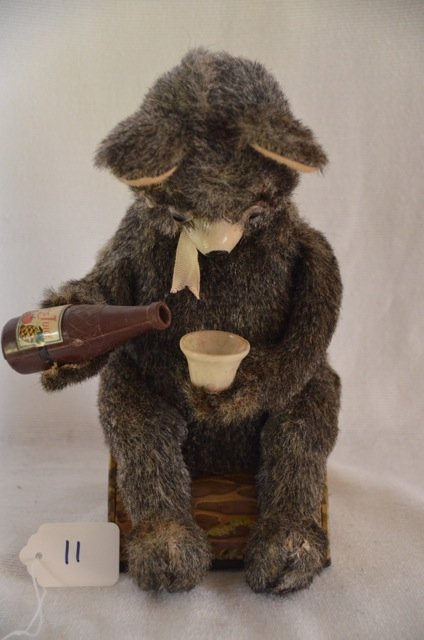 Alps Battery Operated Bear Toy with Juice