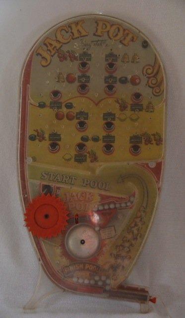 Jackpot Bagatelle Pin Ball Game