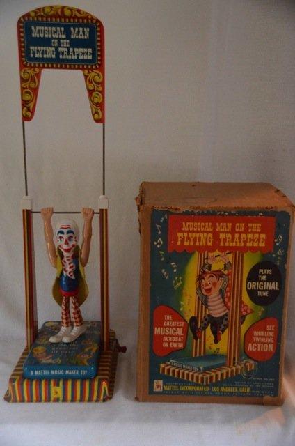 Mattel Music Maker Tin Toy with Clown