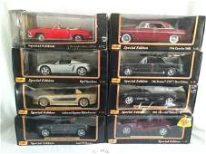 Lot of 8 Maisto Special Edition 1/18 Die Cast Cars